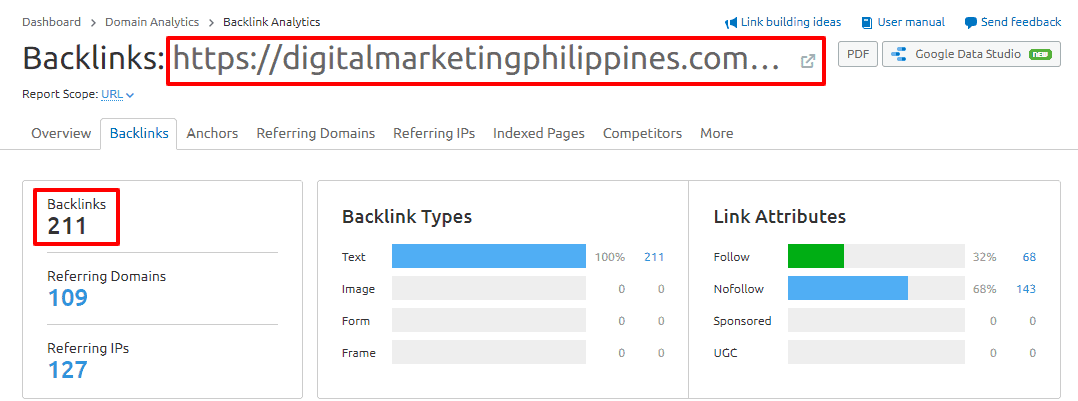 blogging link building